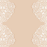 Decorative abstract background, ornate lace card or invitation Royalty Free Stock Photo