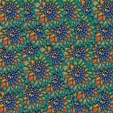 Decorative Abstract flower pattern Royalty Free Stock Photography