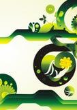 Decorative abstract illustration stock illustration