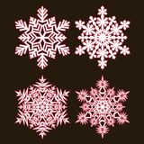 Decorative abstract snowflake. Stock Images