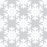Decorative abstract snowflake. Seamless Stock Image