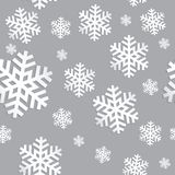 Decorative abstract snowflake. Seamless Royalty Free Stock Images