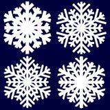 Decorative abstract snowflake. Stock Image