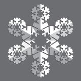 Decorative abstract snowflake. Royalty Free Stock Photography