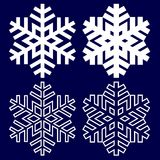 Decorative abstract snowflake. Stock Photography