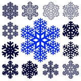 Decorative abstract snowflake. Royalty Free Stock Image