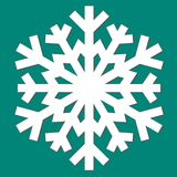 Decorative abstract snowflake. Stock Photo