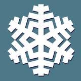 Decorative abstract snowflake. Royalty Free Stock Image