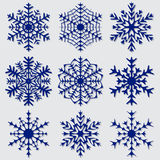 Decorative abstract snowflake. Royalty Free Stock Images