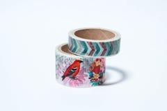 Decorative adhesive tape Royalty Free Stock Image