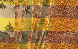 Decorative african background Stock Images