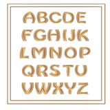 Decorative alphabet. Stock Image