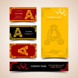 Decorative Alphabet Royalty Free Stock Photography