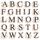 Decorative alphabet Royalty Free Stock Photo