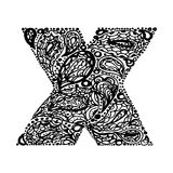 Decorative Alphabet Stock Image