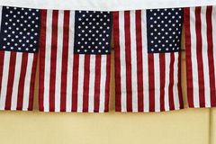 Decorative american flag Stock Photos
