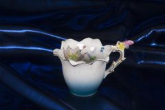 Antique China Tea Cup And Saucer Stock Image - Image of antique