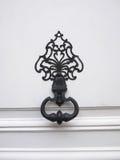 Decorative antique door handle Royalty Free Stock Image