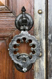 Decorative antique door handle Stock Images