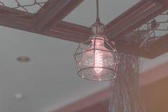 Decorative antique luxury light bulbs. Retro color style Royalty Free Stock Photo