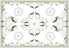 Decorative antique oriental pattern .Graphic arts. Stock Image