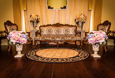Decorative Antique room Royalty Free Stock Images