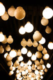 Decorative antique style light bulbs Royalty Free Stock Photography