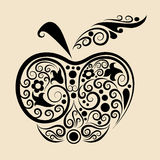 Decorative apple Stock Images