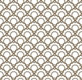 Decorative Arabic grille. Seamless pattern with stylized ornament in oriental style Stock Photography