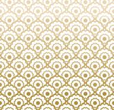 Decorative Arabic grille. Seamless pattern with stylized ornament in oriental style Royalty Free Stock Images