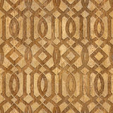 Decorative Arabic pattern - Interior Design wallpaper Royalty Free Stock Photo