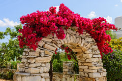 Decorative arch Royalty Free Stock Image