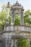 Decorative arch in garden of Massandra Palace Stock Image