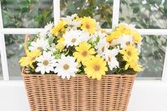 Decorative artificial flower. Stock Photo