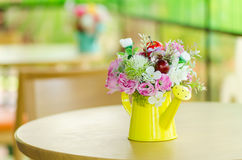 Decorative artificial flower Royalty Free Stock Photo