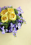 Decorative artificial flowers Stock Photography