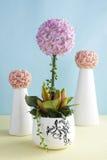 Decorative artificial Hydrangea Royalty Free Stock Photos