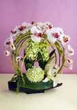 Decorative artificial Orchid Royalty Free Stock Photos