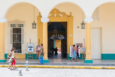 Decorative Arts Museum in Santa Clara,Cuba Royalty Free Stock Images
