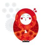 Decorative asian style doll Stock Photos