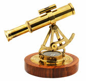 Decorative astrolabe side view Stock Images