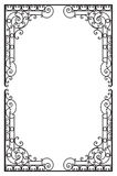 Decorative award frame. Design Element Stock Image