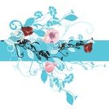 Decorative background. Illustration of a decorative background Royalty Free Stock Image