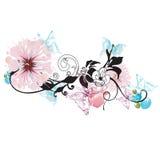 Decorative background. Illustration of a decorative background Stock Photography