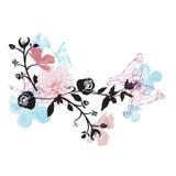 Decorative background. Illustration of a decorative background Royalty Free Stock Photography