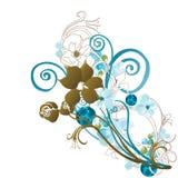 Decorative background. Illustration of a decorative background Royalty Free Stock Images