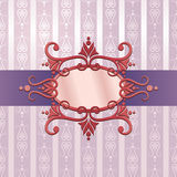 Decorative Background. An illustration of a floral decorative background Royalty Free Stock Photography