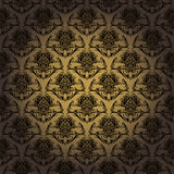 Decorative Background. A background illustration of a repeating decorative pattern background Royalty Free Stock Photo