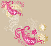 Decorative background Royalty Free Stock Image