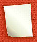 Decorative background with blank page Stock Photos
